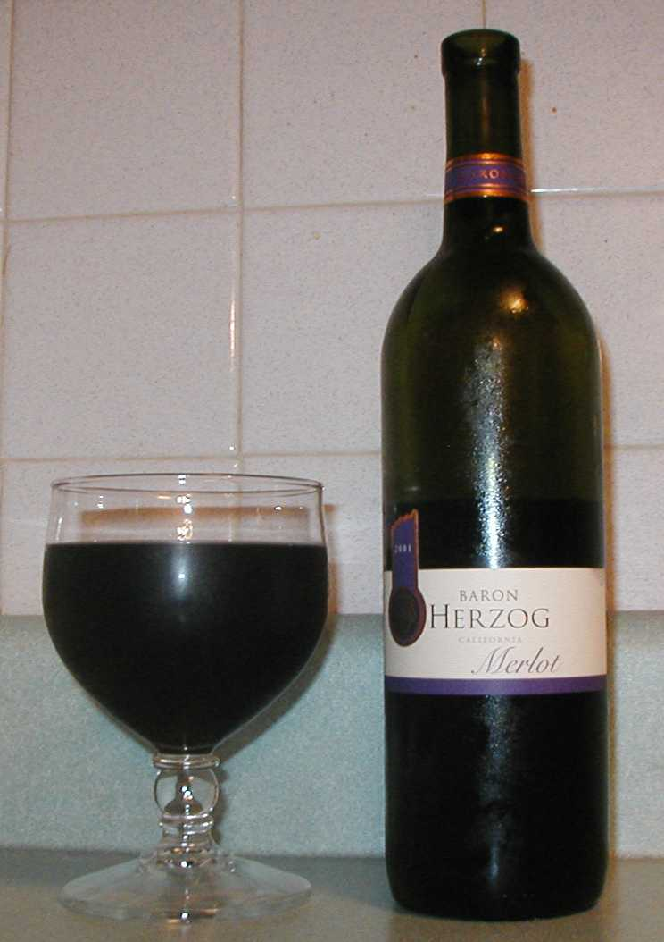 Baron Herzog wine