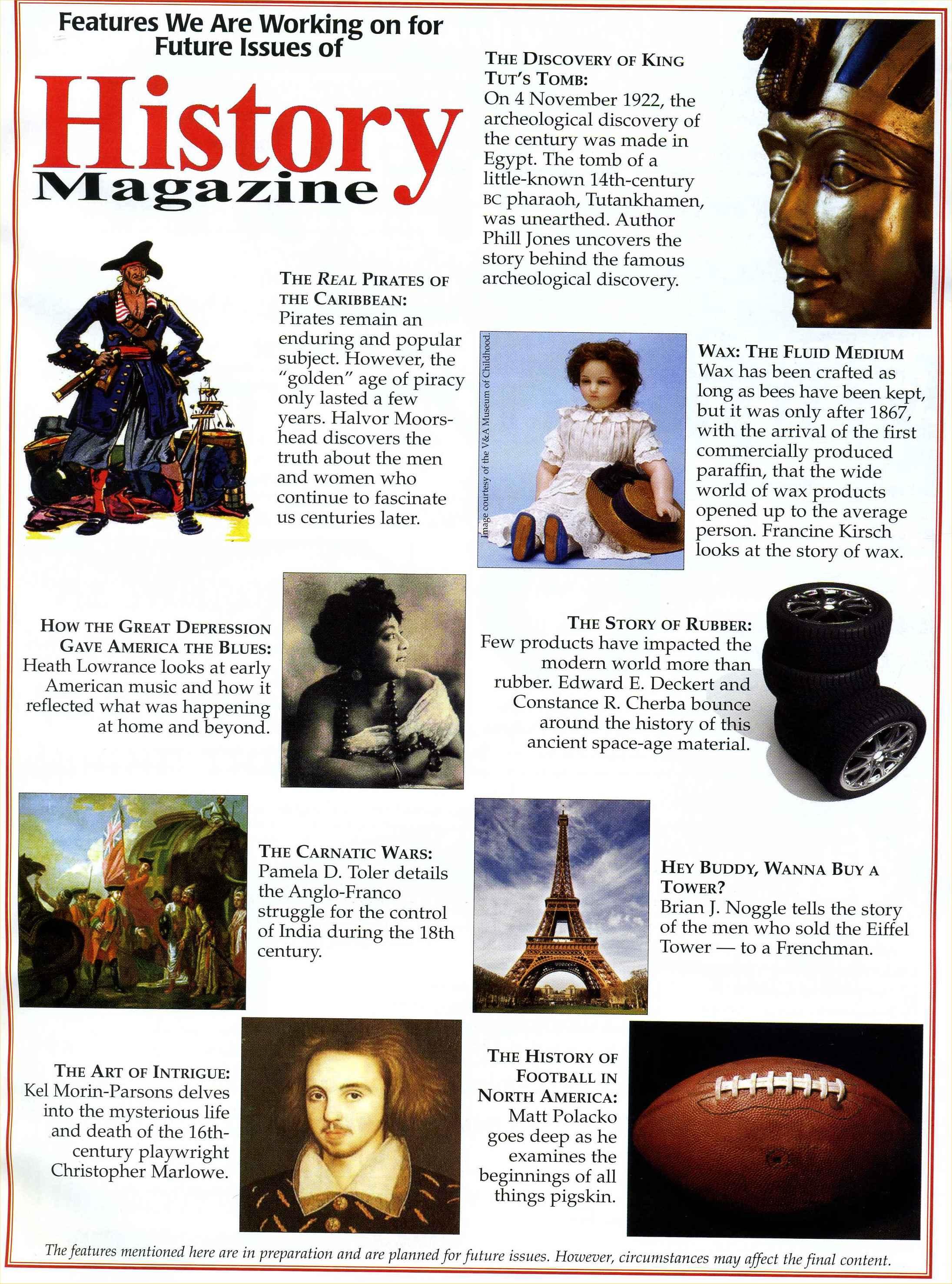 Brian J. in History Magazine